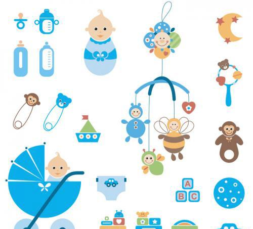 Clip Art Baby Mobile Clipart - Clipart Kid