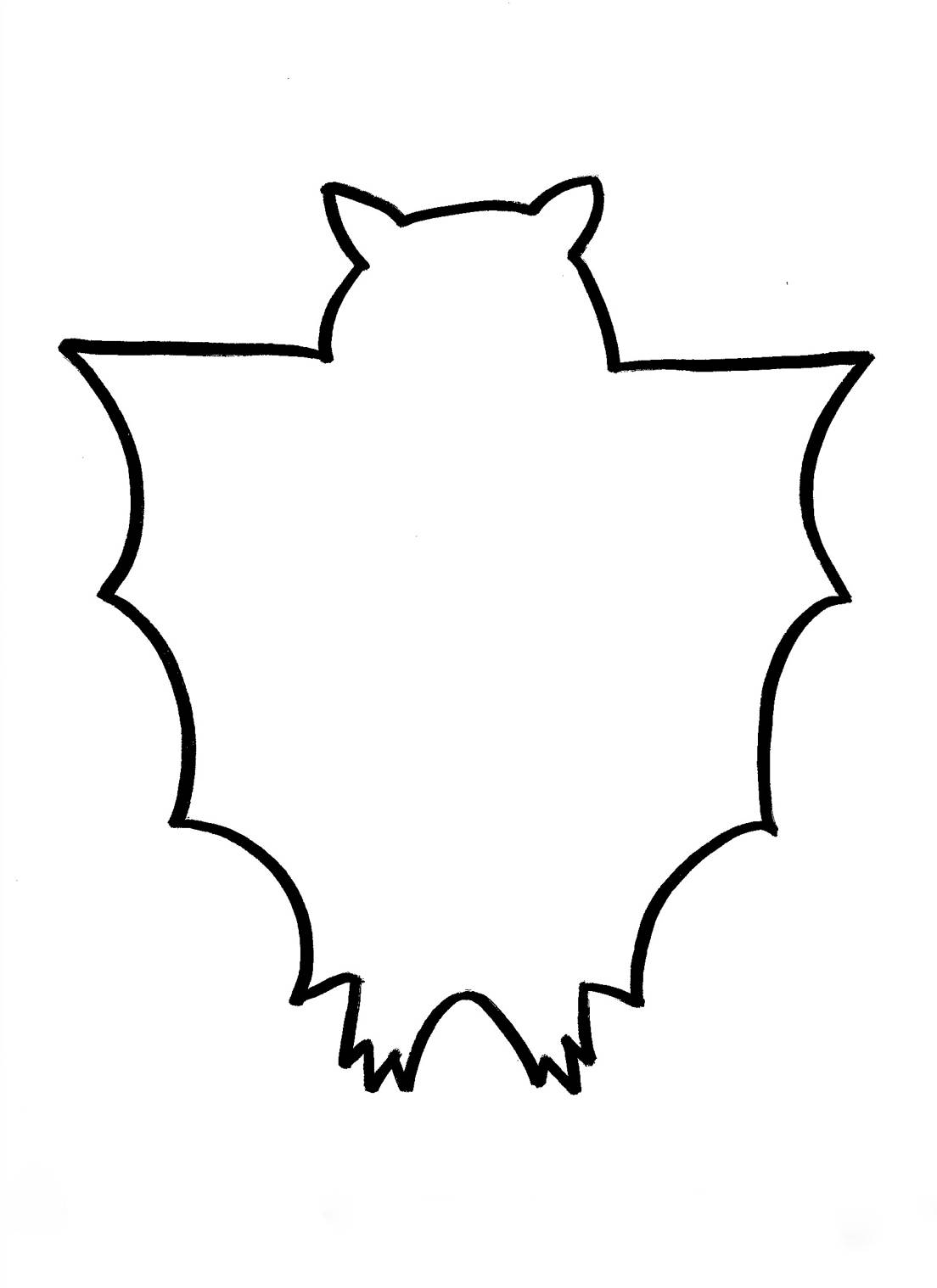 Bat Outline   Clipart Best