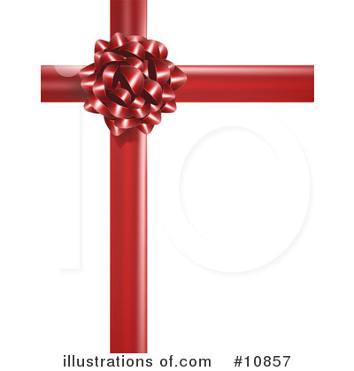 Bow Clipart  10857 By Leo Blanchette   Royalty Free  Rf  Stock
