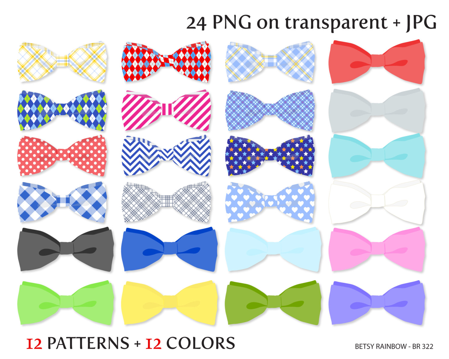 Bow Tie Clipart Png And Jpg Neck Bow Tie Clipart By Betsyrainbow