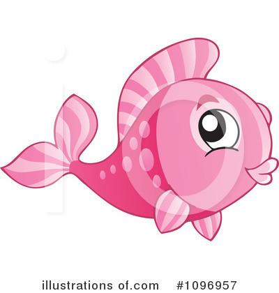 Pink Fish Clip Art