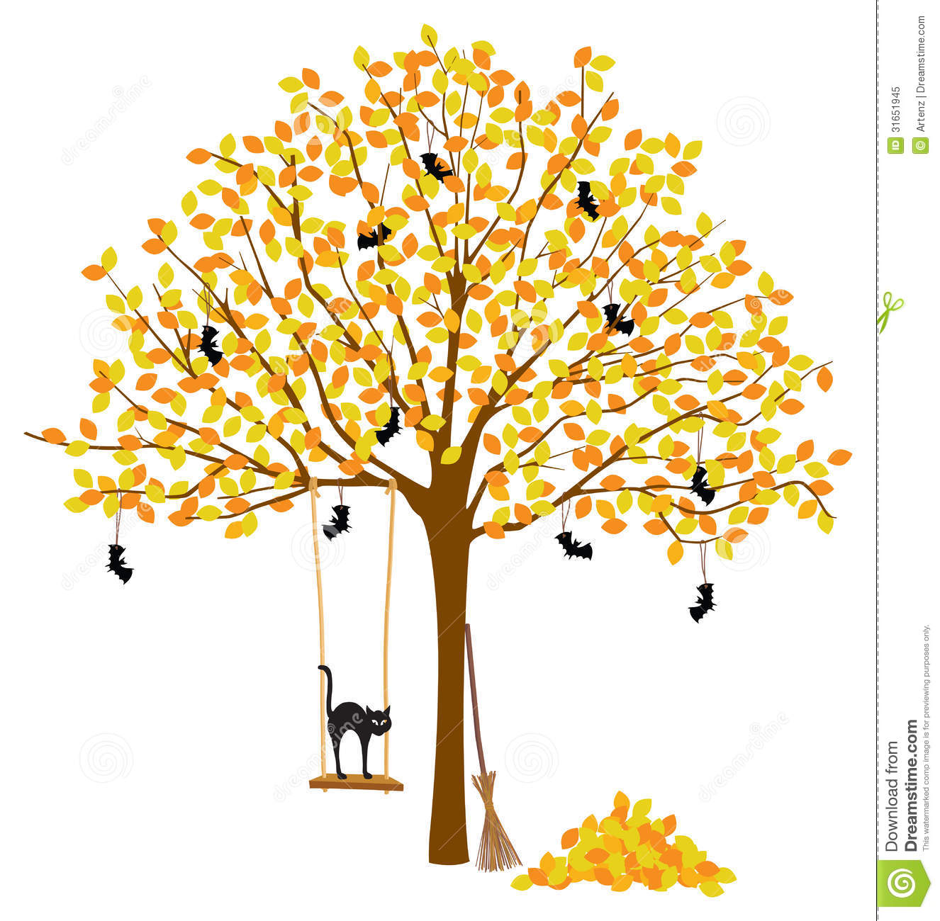 Displaying 18  Images For   Fall Decorations Clipart