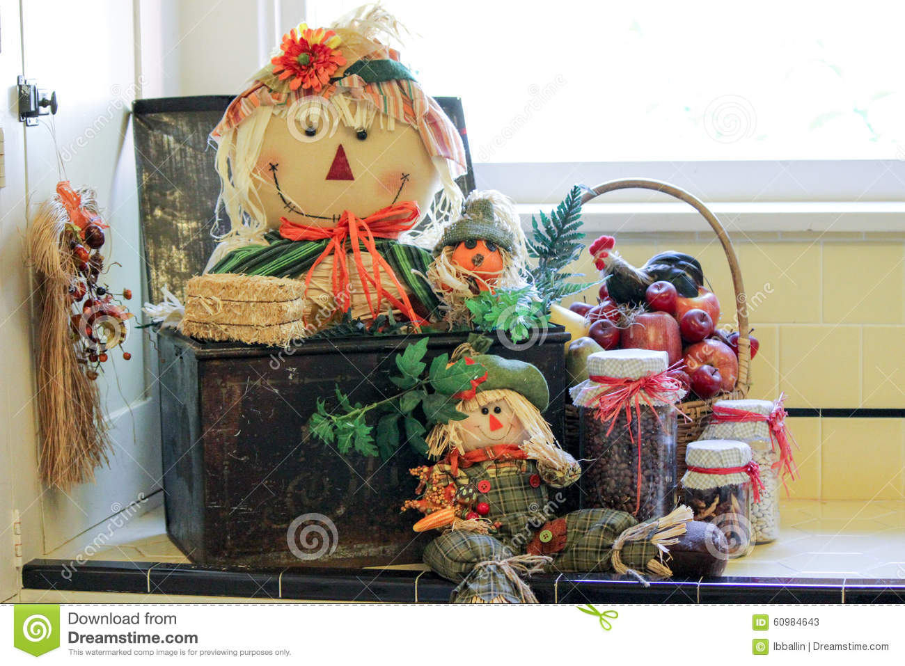 Fall Decorations Stock Photo   Image  60984643