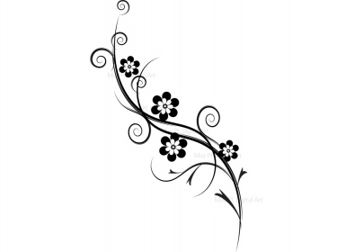Flourish Decorations   Flourish Flowers Clip Art 10085   Meylah