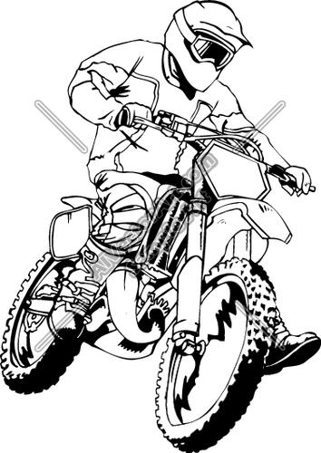 Motocross Clipart Clipart Suggest