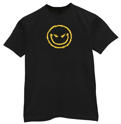 Tall Evil Smiley Face Shirt Funny Tshirt   Clipart Best   Clipart Best