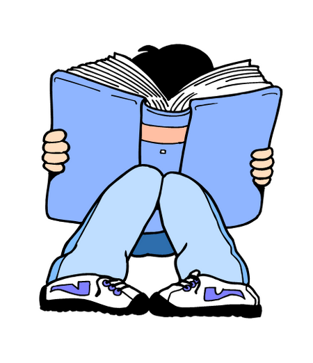 Teen Reading Clipart   Cliparthut   Free Clipart
