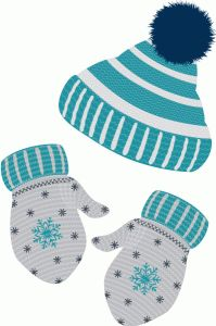 Hats And Mittens Clipart - Clipart Suggest