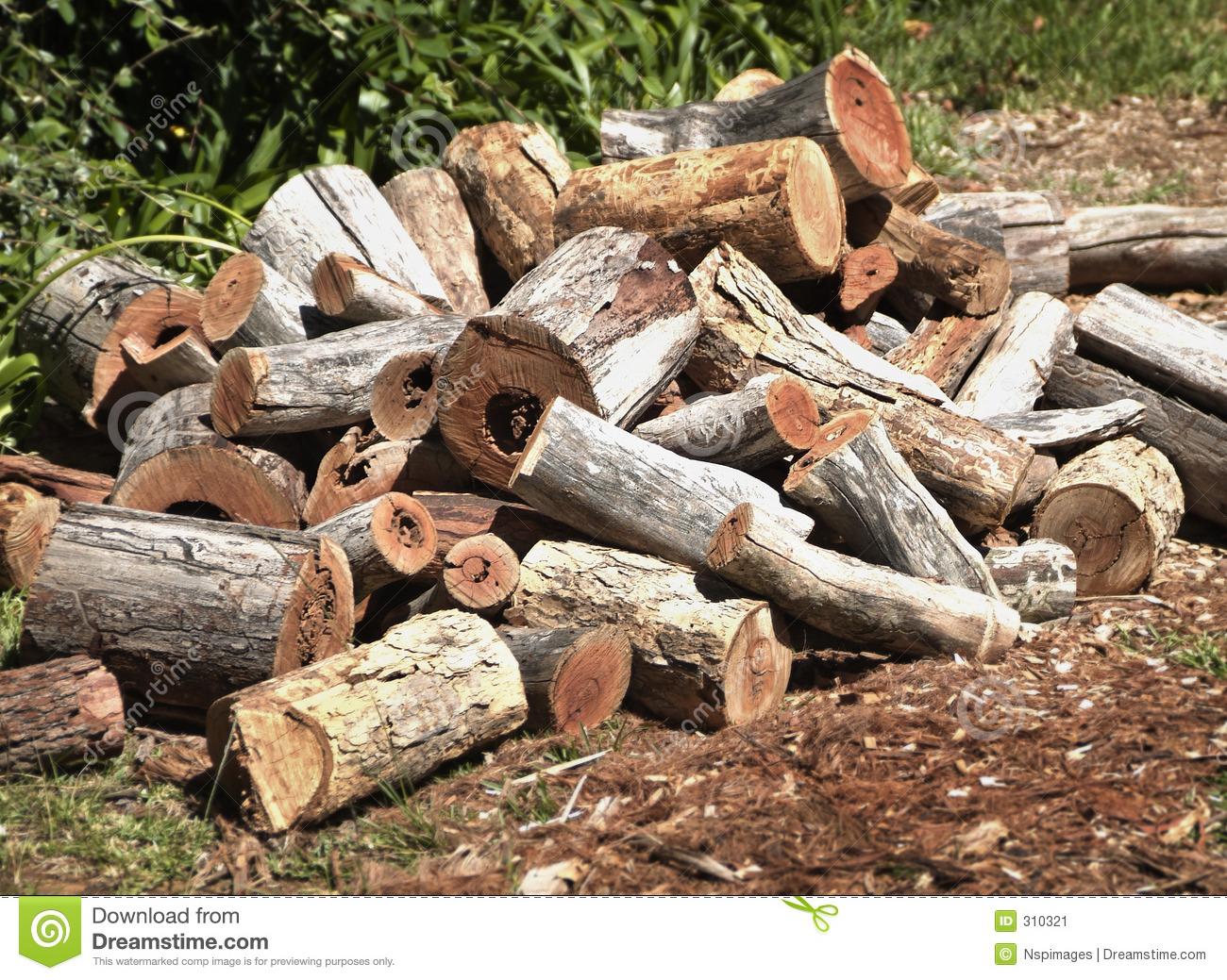 Wood pile clipart suggest