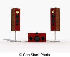 Audio Speaker And Sub Woofer   Audio Speaker With Sub Woofer