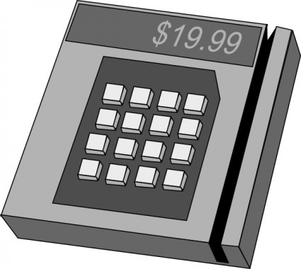 Credit Card Machine Clipart