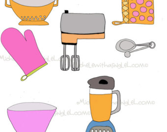 Oven Clipart On Etsy A Global Handmade And Vintage Marketplace