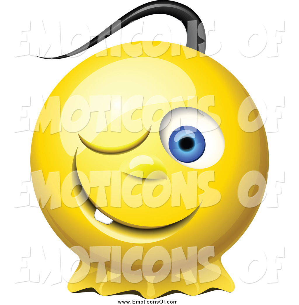 Sneaky Face Emoticon Emoticon Clipart   New Stock
