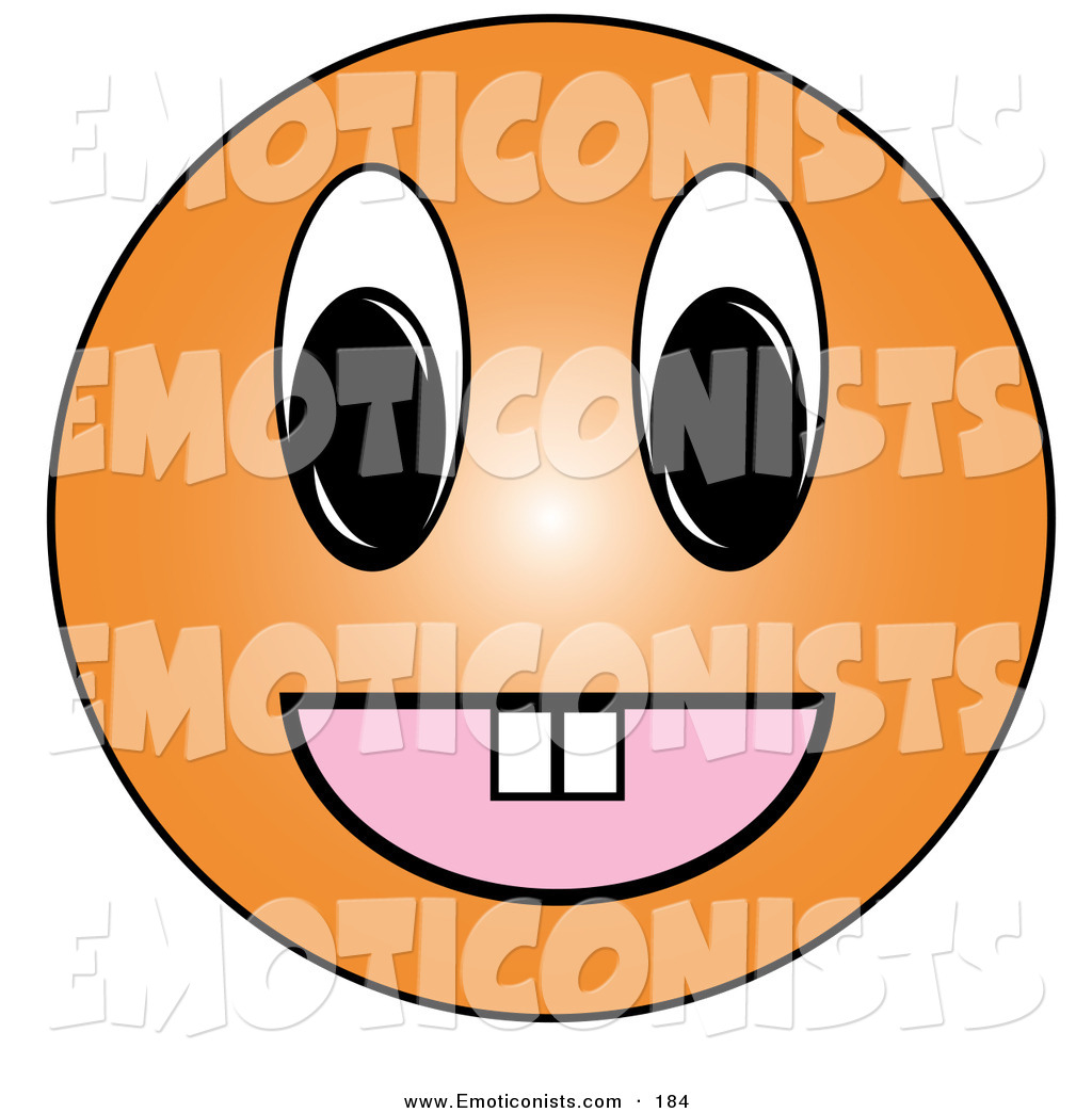 Sneaky Face Emoticon Royalty Free Stock Emoticon