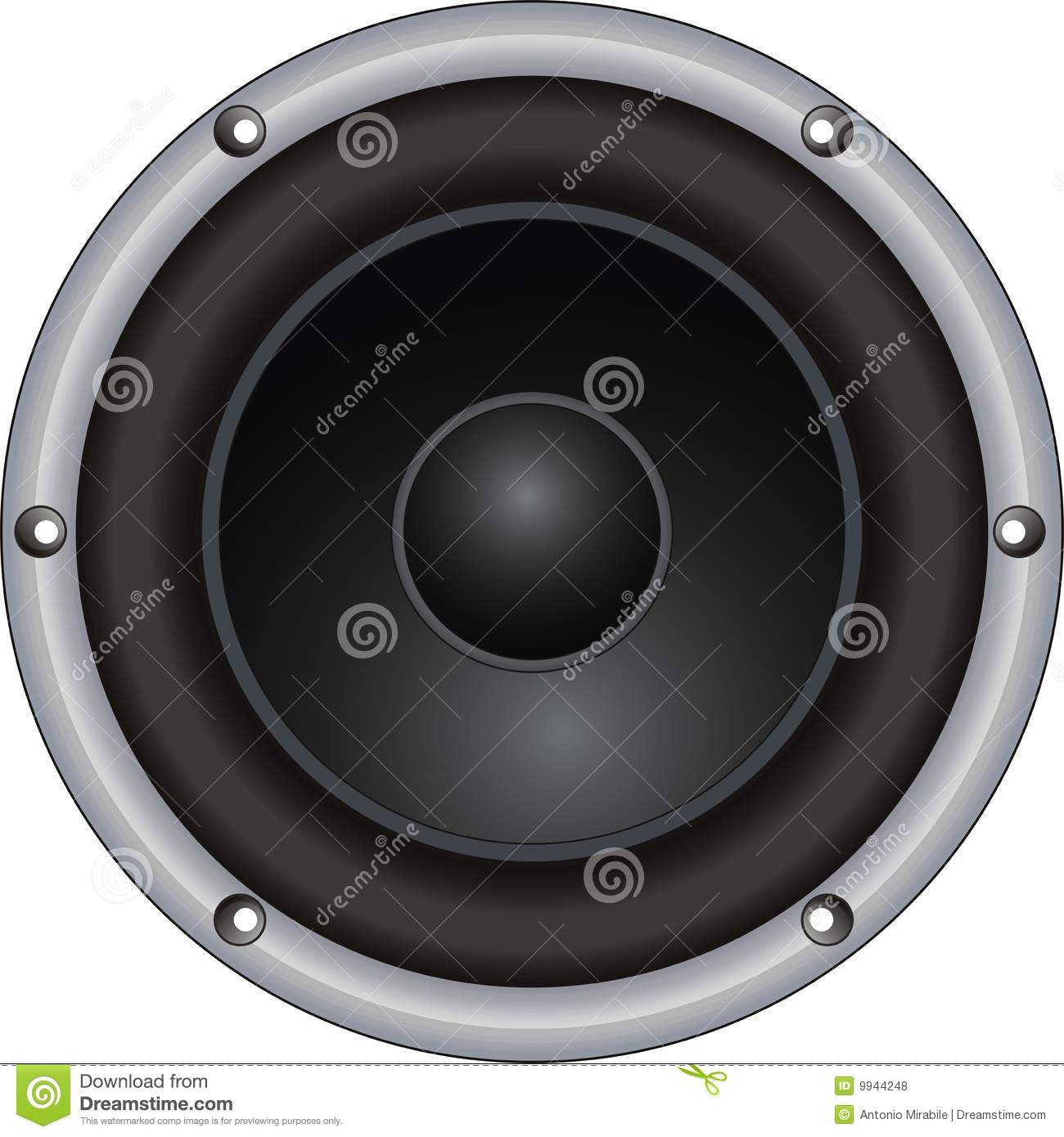 Woofer Royalty Free Stock Photos   Image  9944248