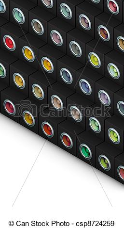 Woofer Speaker Csp8724259   Search Vector Clipart Drawings