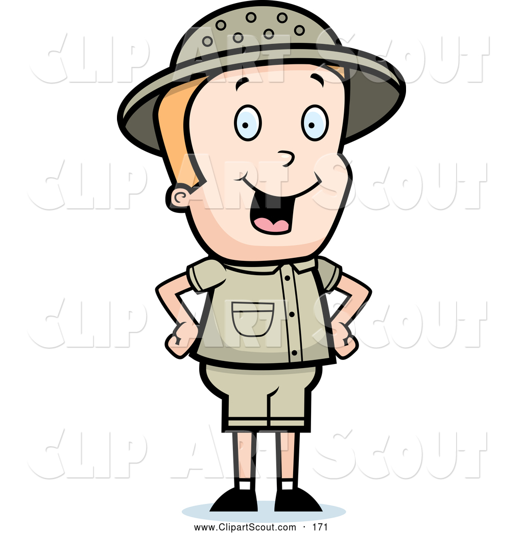 Safari Explorer Eyes Clip Art