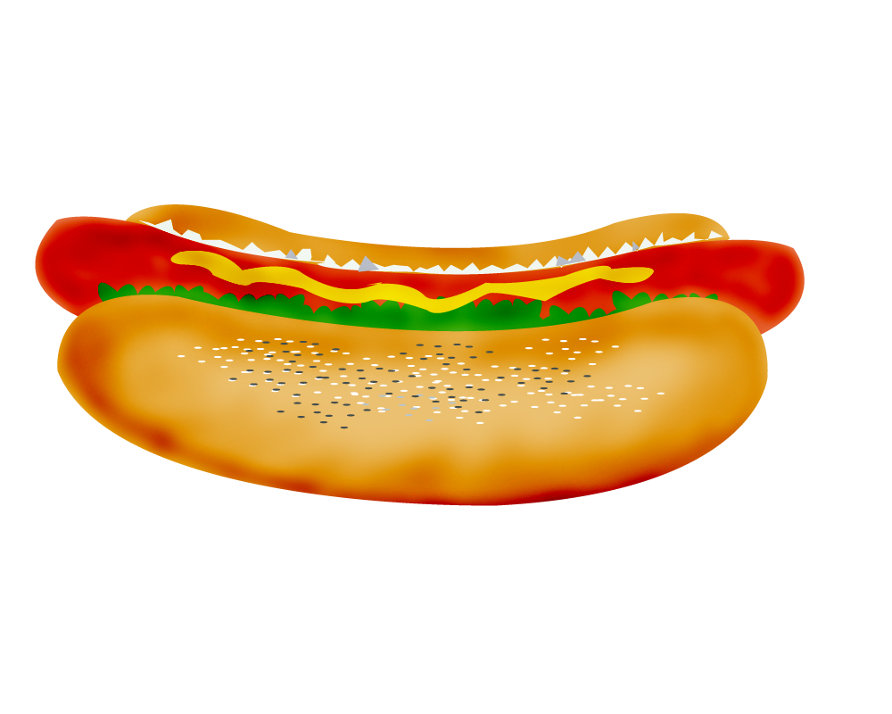 Toy Food Clip Art : Funny hot dog clipart suggest