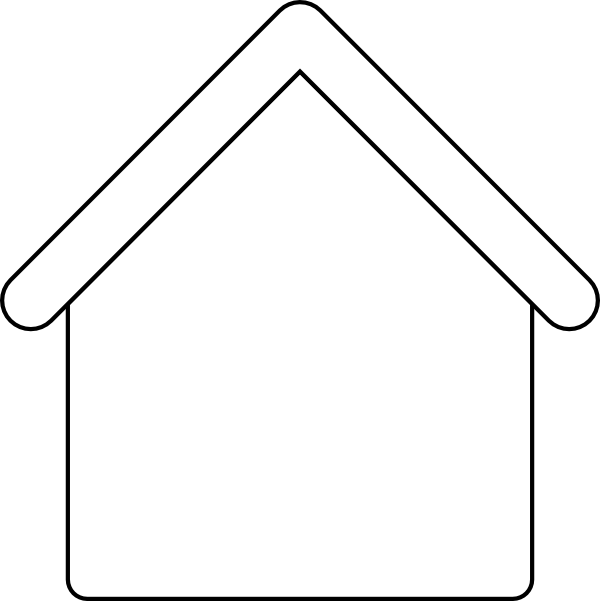 House Outline Template   Clipart Panda   Free Clipart Images