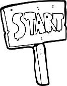 Clip Art Start Clipart start sign clipart kid interested in purchasing a high quality print or poster of this image