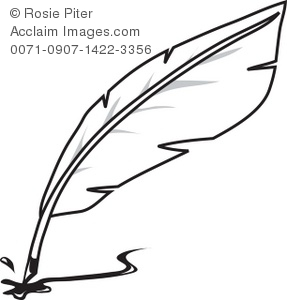 quill pen clipart clipart suggest
