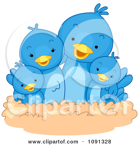 Royalty Free  Rf  Clipart Illustration Of Feet Of A Family Sitting At