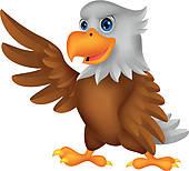Cute Eagle Clipart - Clipart Kid