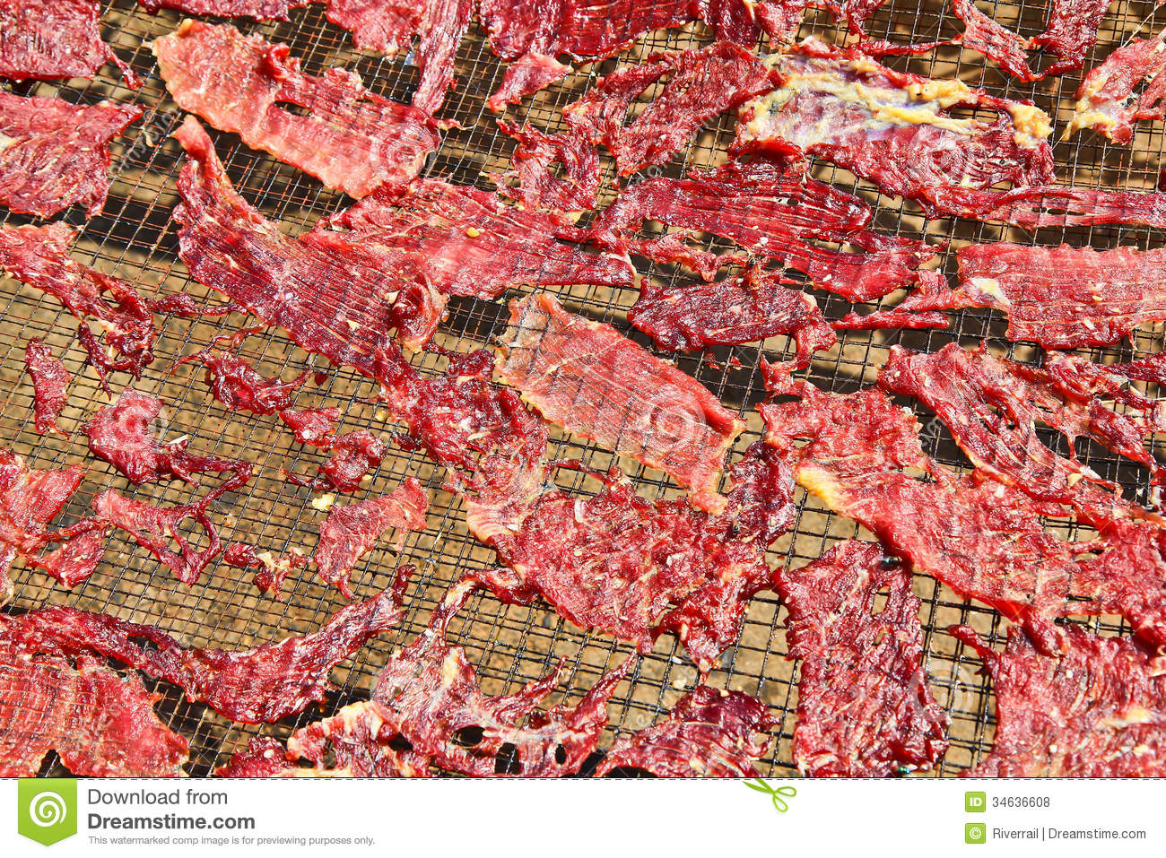 Dried Meat Royalty Free Stock Photos   Image  34636608