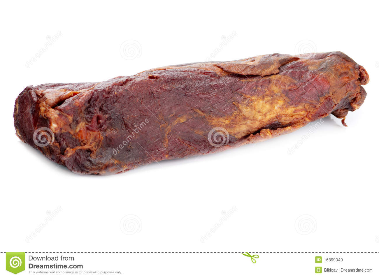 Dried Meat Stock Photo   Image  16899340