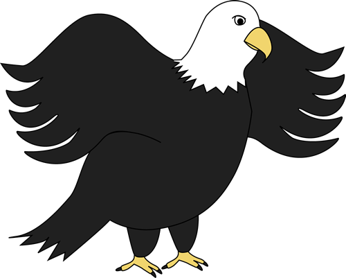 Cute Eagle Clipart - Clipart Kid