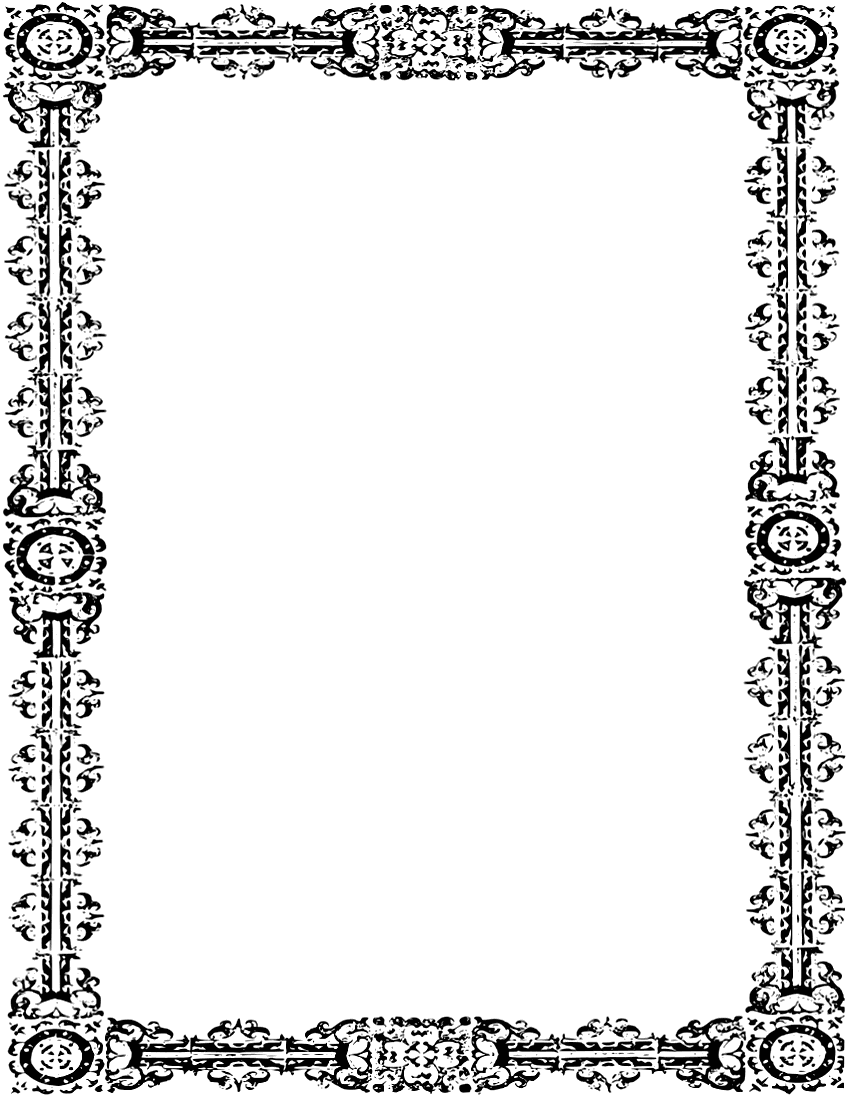 vector fl frames borders corners