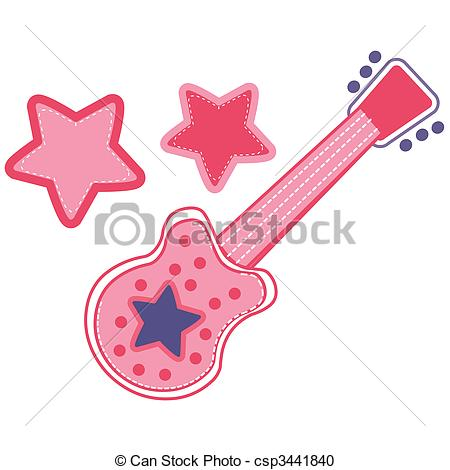 Of Girls Rock Vector Pack   A Vector Illustration Of A Girls