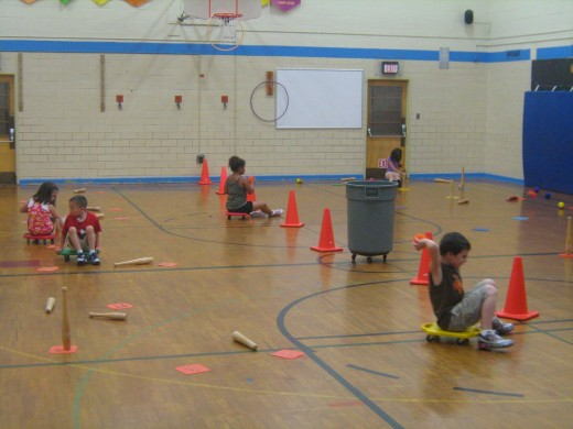Physical Education Activities And Gym Games For Grade School Through