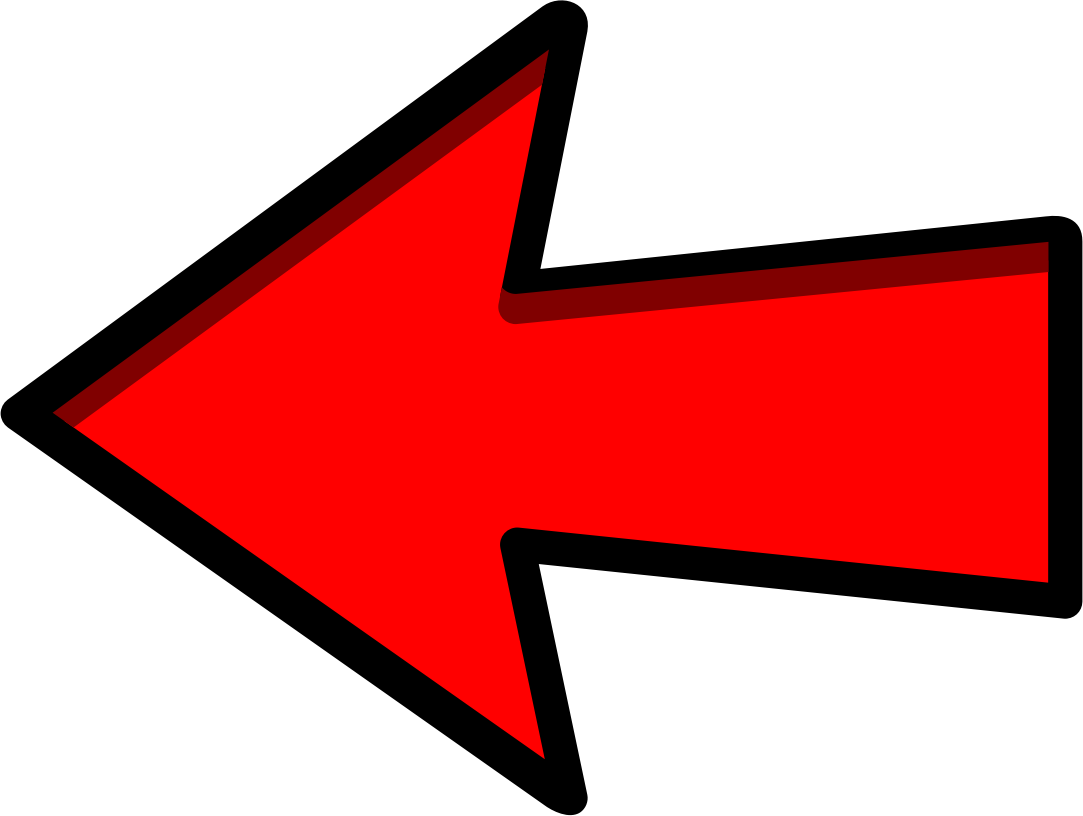 Red Arrow Left Pointing
