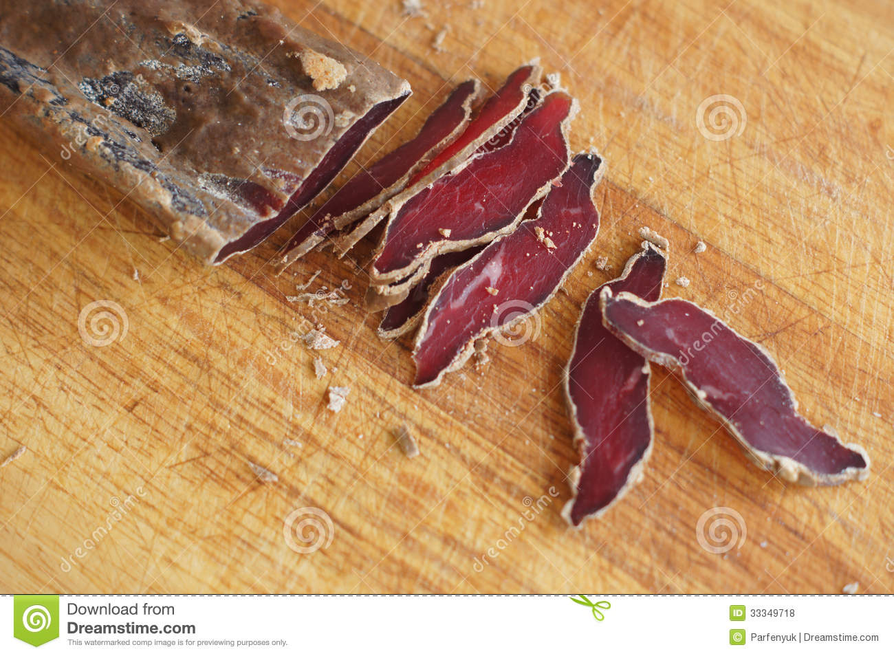 Royalty Free Stock Photos  Dried Beef Meat
