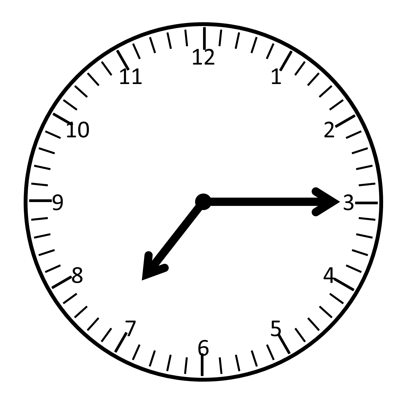 Analog Clock Face Template   Clipart Best