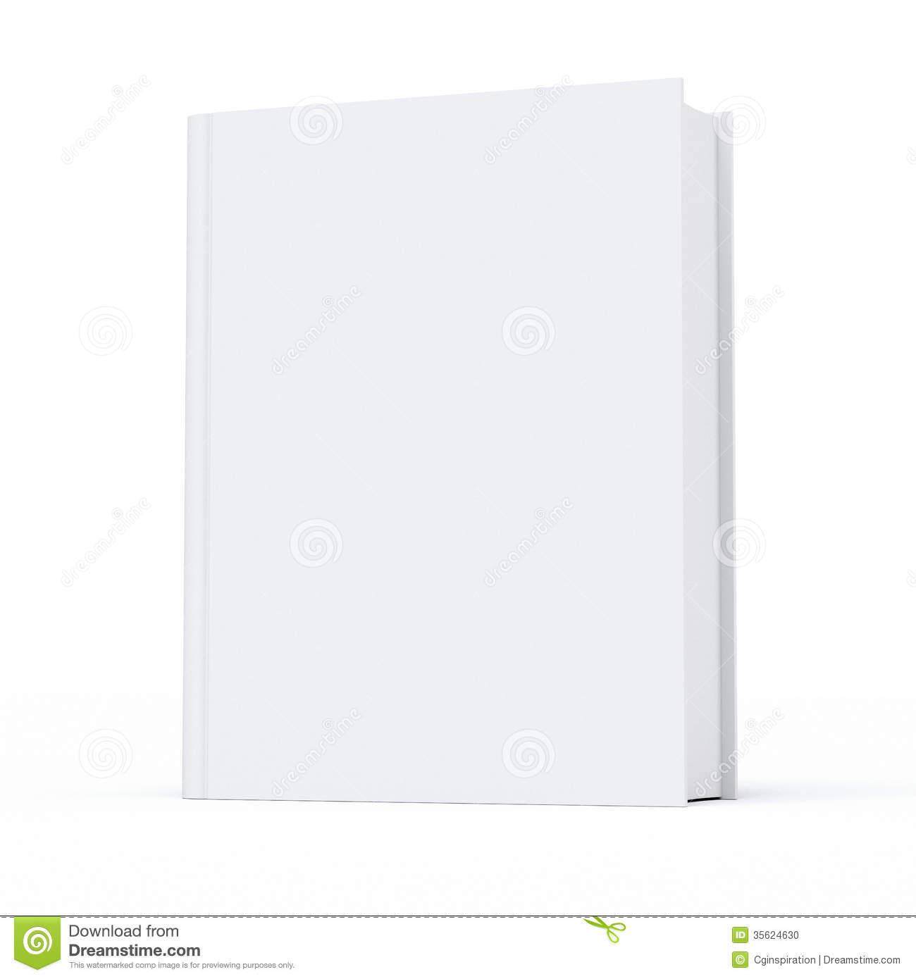 Blank Book Stock Photo   Image  35624630