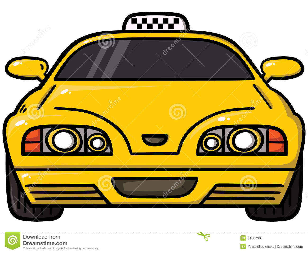 Yellow Cab Royalty Free Stock Photography   Image  31567367