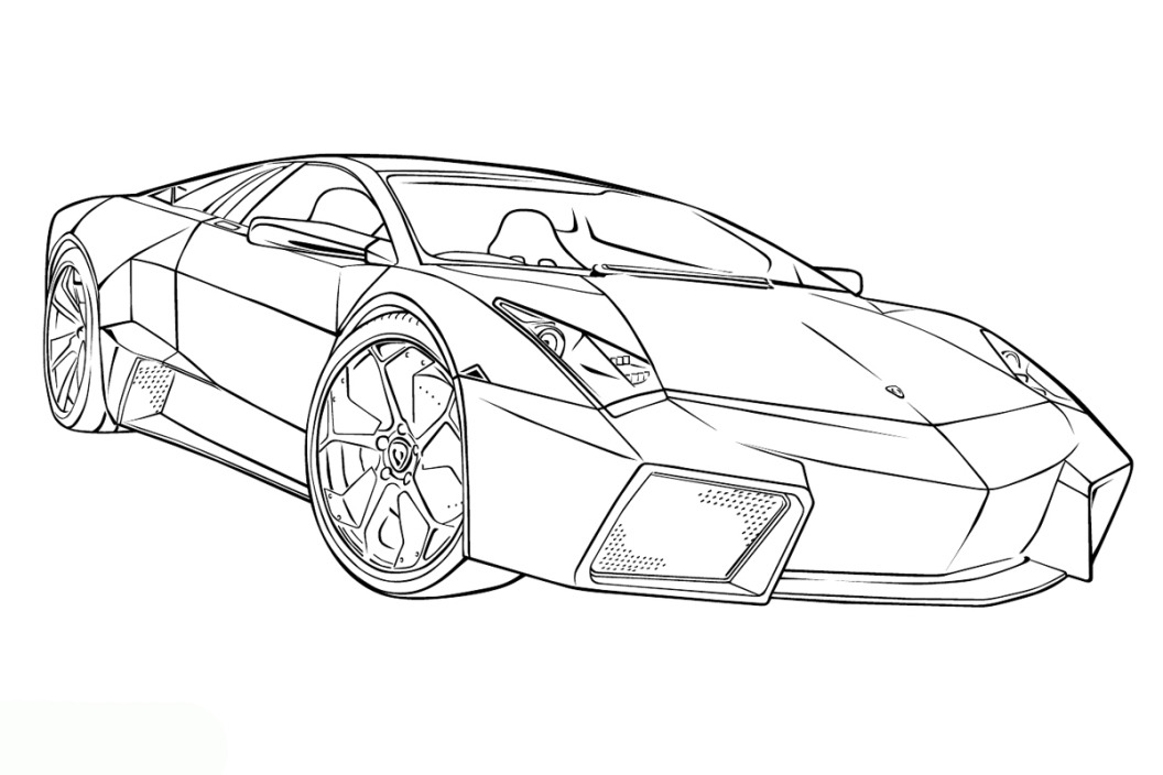 coloring pictures of cars lamborghini coloring pages