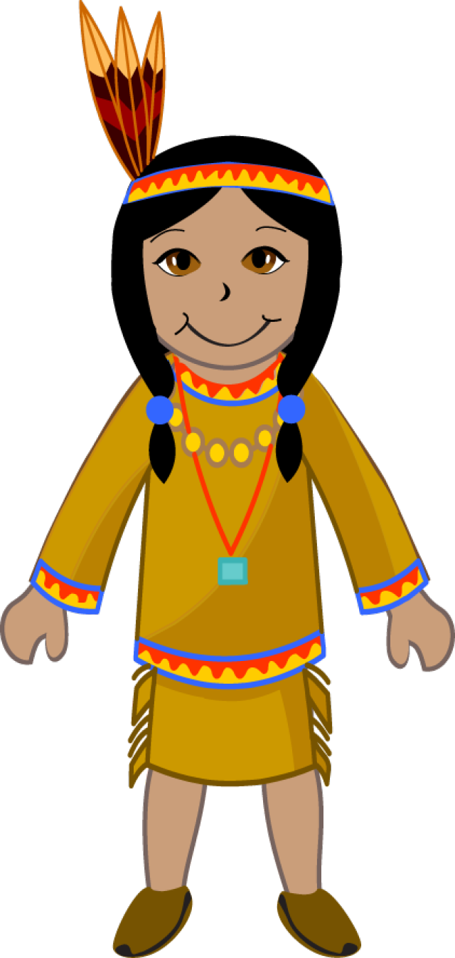 Clip Art Of An American Indian Girl     Dixie Allan