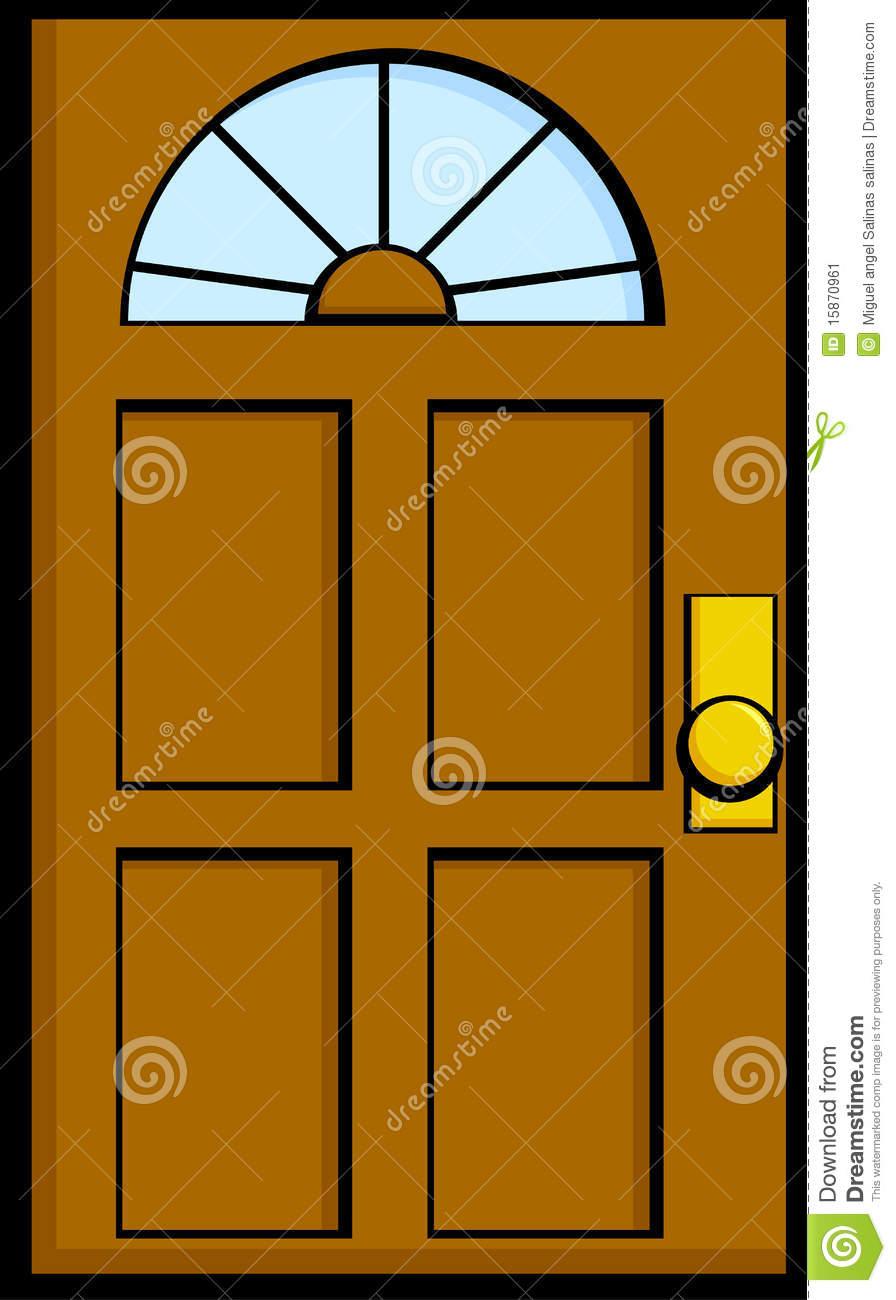 Open double door clipart