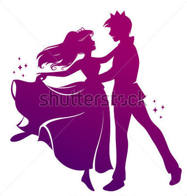 File Browse   People   Silhouette Of Prince And Princess Dancing