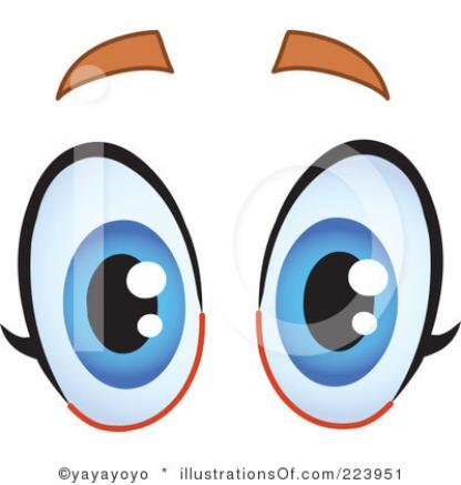 Funny Eyes Clipart - Clipart Kid