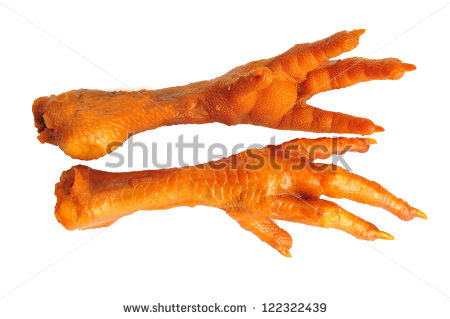 Chicken Feet Clipart Chicken Feet   Stock Photo