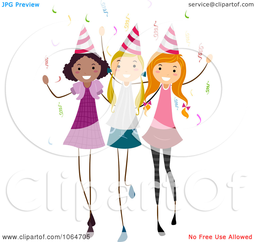 Ladies Party Clipart - Clipart Kid