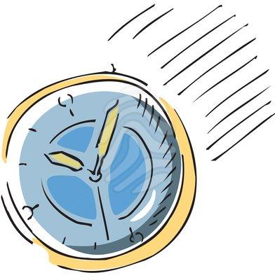 Deadline Time Clock Rush Hour Clipart 51678861 Jpg