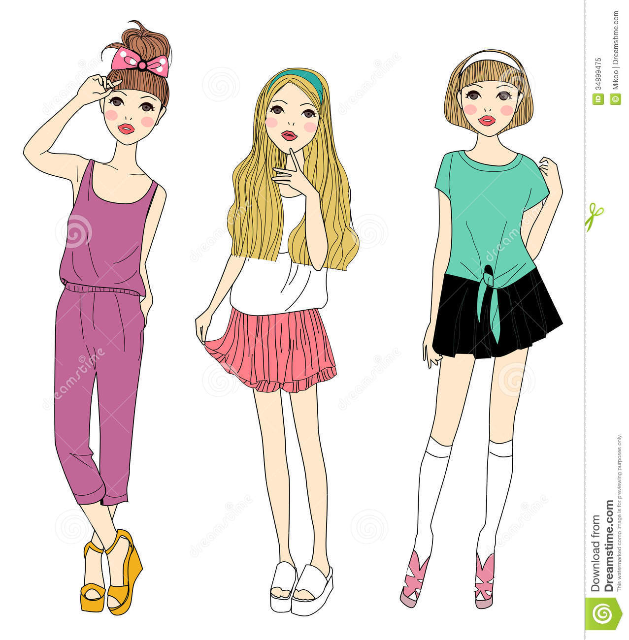 Related Three Girls Laughing Three Little Girls Clipart Three Girls
