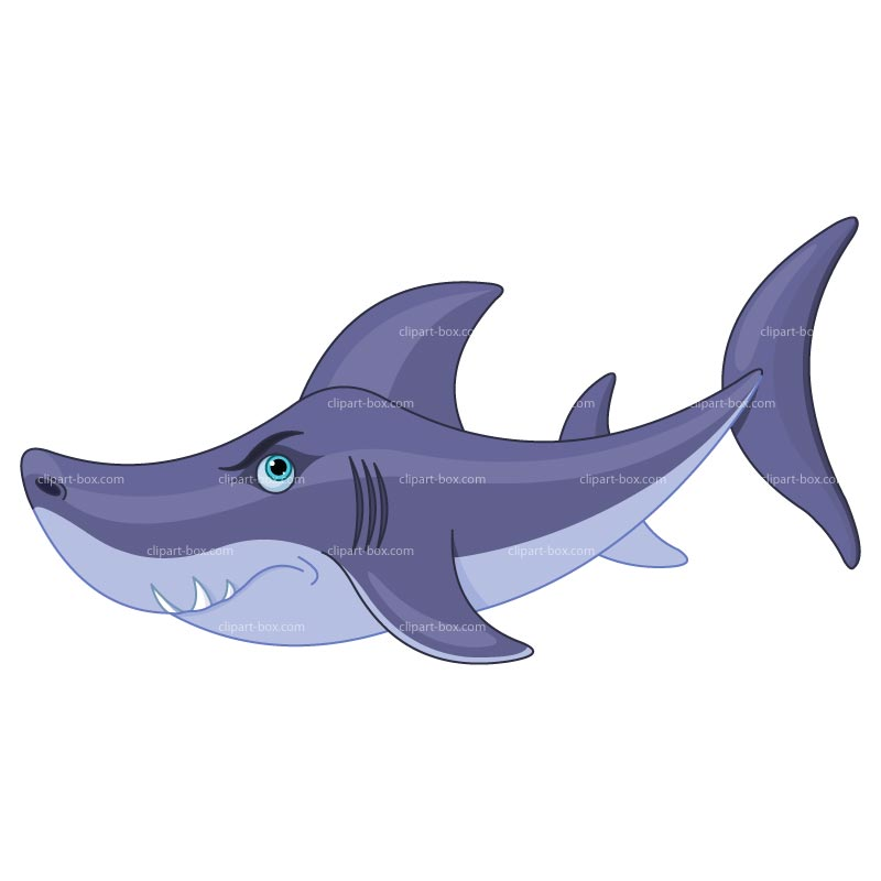 Smiling Shark Clipart - Clipart Suggest