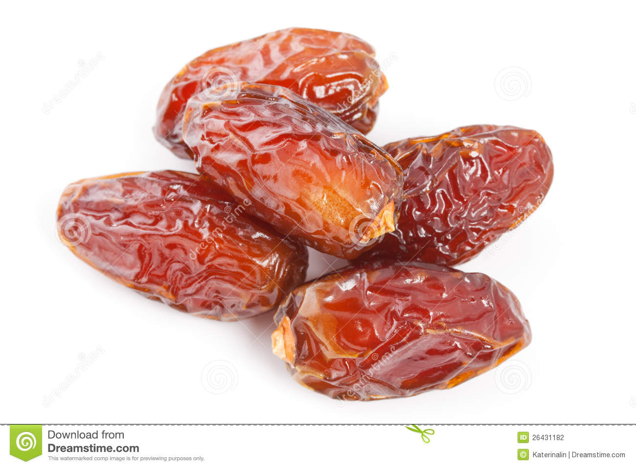Date Fruit Isolated On White Background  Stock Photography   Image