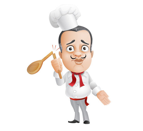French Chef Vector Character Vectors   Clipart Me